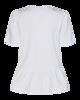 freequent tshirt med flæs