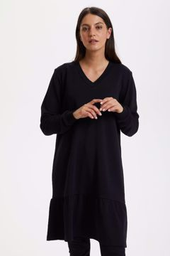 kaffe sweatshirt kjole